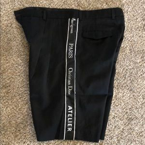 Christian Dior Black Shorts